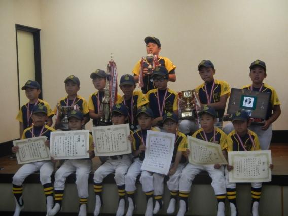 第30回幸区少年野球連盟春期大会マルエス杯準優勝